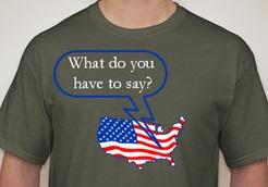 Speak Up, America! Watch US Work.